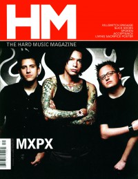 Cover of HM, Sep / Oct 2003 #103, featuring MxPx