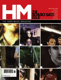Cover of HM, Nov / Dec 2004 #110, featuring 7 So & So Says interviews