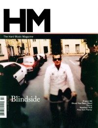 Cover of HM, Mar / Apr 2004 #106, featuring Blindside