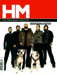 Cover of HM, Jul / Aug 2004 #108, featuring Demon Hunter