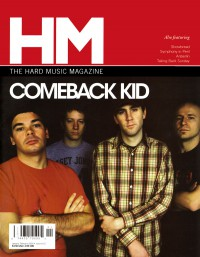 Cover of HM, Jan / Feb 2005 #111, featuring Comeback Kid