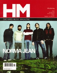 Cover of HM, Mar / Apr 2005 #112, featuring Norma Jean
