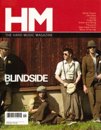 Cover of HM, Sep / Oct 2005 #115, featuring Blindside