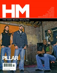 Cover of HM, Nov / Dec 2006 #122, featuring Pillar / Skillet