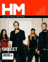 Cover of HM, Nov / Dec 2006 #122, featuring Skillet