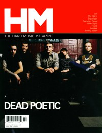 Cover of HM, Jul / Aug 2006 #120, featuring Dead Poetic