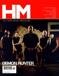 Cover of HM, Nov / Dec 2007 #128, featuring Demon Hunter