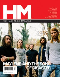 Cover of HM, Mar / Apr 2007 #124, featuring Maylene and the Sons of Disaster