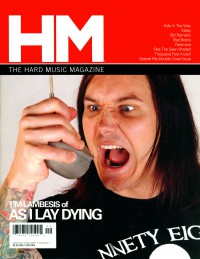 Cover of HM, Sep / Oct 2007 #127, featuring As I Lay Dying
