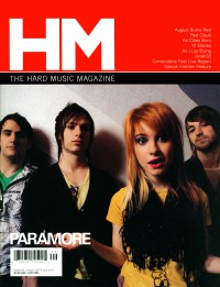 Cover of HM, Sep / Oct 2007 #127, featuring Paramore