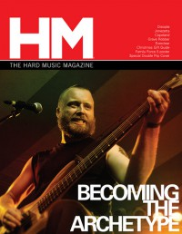 Cover of HM, Nov / Dec 2008 #134, featuring Becoming The Archetype