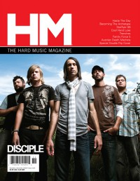 Cover of HM, Nov / Dec 2008 #134, featuring Disciple / Becoming The Archetype
