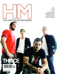 Cover of HM, Jan / Feb 2008 #129, featuring Thrice