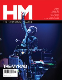 Cover of HM, Mar / Apr 2008 #130, featuring The Myriad