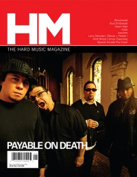 Cover of HM, May / Jun 2008 #131, featuring P.O.D.
