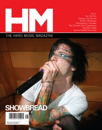 Cover of HM, May / Jun 2008 #131, featuring Showbread