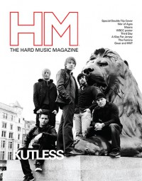 Cover of HM, Jul / Aug 2008 #132, featuring War of Ages / Kutless
