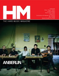 Cover of HM, Sep / Oct 2008 #133, featuring Anberlin