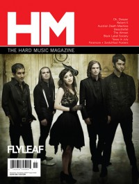 Cover of HM, Nov / Dec 2009 #140, featuring Flyleaf