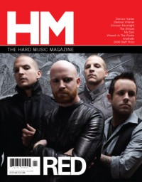 Cover of HM, Jan / Feb 2009 #135, featuring Red