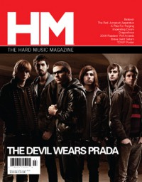 Cover of HM, Mar / Apr 2009 #136, featuring The Devil Wears Prada
