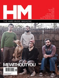Cover of HM, May / Jun 2009 #137, featuring MeWithoutYou