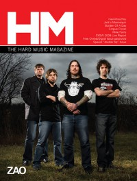 Cover of HM, May / Jun 2009 #137, featuring Zao
