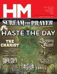 Cover of HM, Jul / Aug 2009 #138, featuring August Burns Red
