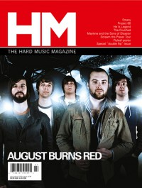 Cover of HM, Jul / Aug 2009 #138, featuring August Burns Red / Scream the Prayer Tour