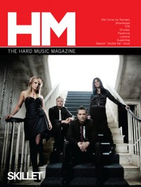 Cover of HM, Sep / Oct 2009 #139, featuring Skillet
