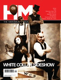 Cover of HM, Sep / Oct 2009 #139, featuring White Collar Sideshow
