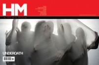 Cover of HM, Nov / Dec 2010 #146, featuring Underoath