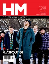 Cover of HM, Mar / Apr 2010 #142, featuring Flatfoot 56