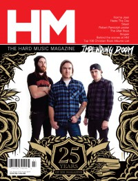 Cover of HM, Jul / Aug 2010 #144, featuring Impending Doom & 25 Years of HM
