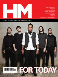 Cover of HM, Sep / Oct 2010 #145, featuring For Today