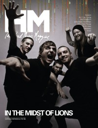Cover of HM, Dec 2011 #151, featuring In The Midst of Lions