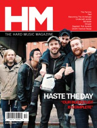 Cover of HM, Apr - Jun 2011 #148, featuring Haste the Day