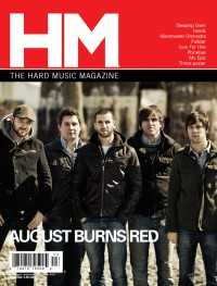 Cover of HM, Jul - Sep 2011 #149, featuring August Burns Red
