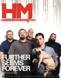 Cover of HM, Oct 2012 #160, featuring Further Seems Forever