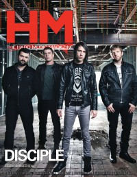 Cover of HM, Nov 2012 #161, featuring Disciple