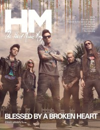 Cover of HM, Jan 2012 #152, featuring Blessed By A Broken Heart