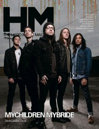 Cover of HM, Mar 2012 #154, featuring MyChildren MyBride