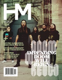 Cover of HM, Nov 2013 #172, featuring Impending Doom