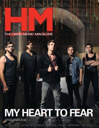 Cover of HM, Jan 2013 #162, featuring My Heart to Fear