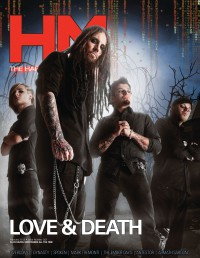 Cover of HM, Feb 2013 #163, featuring Love and Death