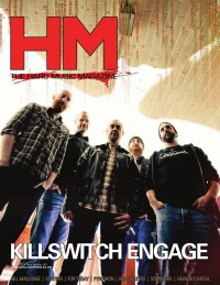Cover of HM, Apr 2013 #165, featuring Killswitch Engage