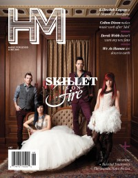 Cover of HM, Jun 2013 #167, featuring Skillet