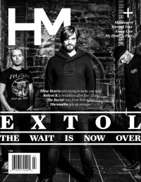 Cover of HM, Jul 2013 #168, featuring Extol