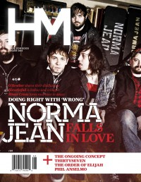Cover of HM, Aug 2013 #169, featuring Norma Jean