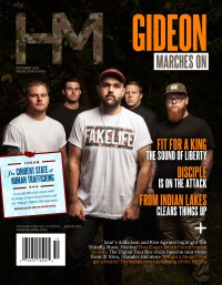 Cover of HM, Oct 2014 #183, featuring Gideon